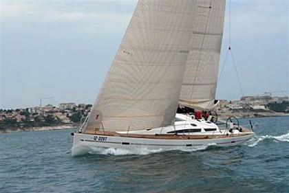 Elan 450 (code:CRY 110) - Kastel Gomilica - Charter Boote Kroatien