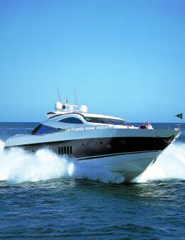 Sunseeker 95 Predator (code:CRY 124) - Trogir - Charter boten Kroatië