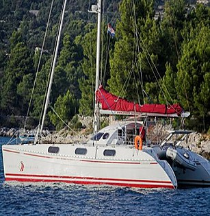 Outremer 45 (code:CRY 179) - Kastel Gomilica - Charter ships Croatia