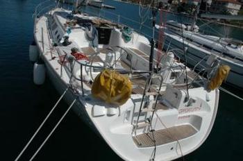 Sun Fast 43 (code:CRY 189) - Zadar - Charter ships Croatia