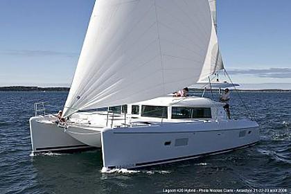 Lagoon 420 (code:CRY 204) - Murter - Charter ships Croatia