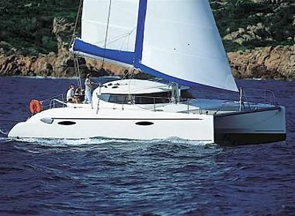 Catamaran Lavezzi 40 (code:CRY 225) - Sibenik - Charter hajókHorvátország