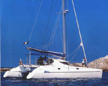 Catamaran Athena 38 (code:CRY 233) - Kastel Gomilica - Charter navi Croazia