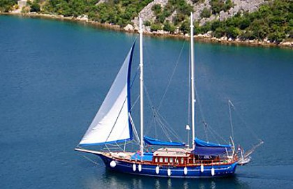 Gulet Blue Star (code :CRY 300) - Sibenik - Charter embarcation Croatie