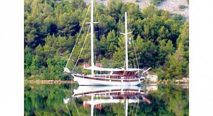 Gulet Pulenat (code:CRY 305) - Dubrovnik - Charter ships Croatia