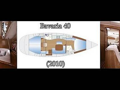 Bavaria 40 (CBM Realtime) - Biograd - Charter hajókHorvátország