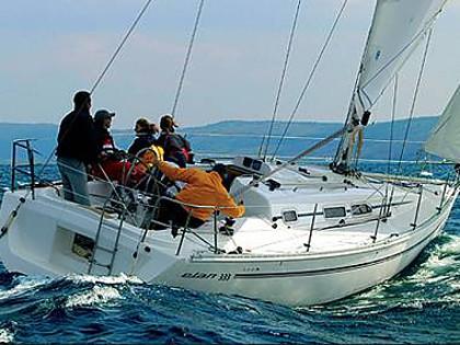 Elan 333 (CBM Realtime) - Biograd - Charter plovila Hrvaška
