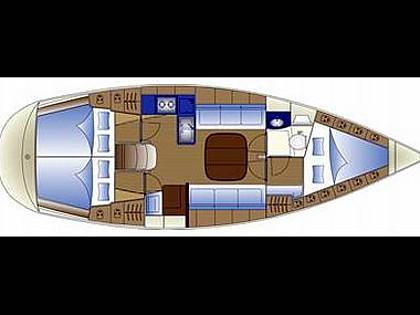 Bavaria Cruiser 36 (CBM Realtime) - Biograd - Charter Boote Kroatien