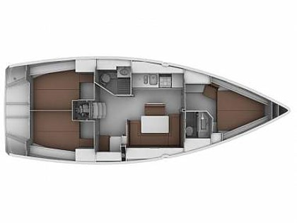 Bavaria Cruiser 45 (CBM Realtime) - Sukošan - Charter plovila Hrvatska