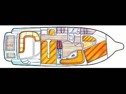 Salpa 32.5 (CBM Periodic) - Sukosan - Czarter statki Chorwacja