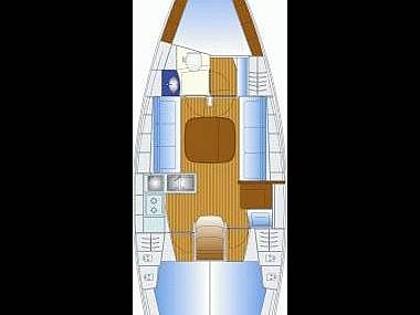 Bavaria 35 Cruiser (CBM Realtime) - Murter - Charter Boote Kroatien