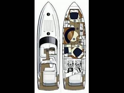 Princess V 58 (CBM Realtime) - Primošten - Charter plavidlá Chorvátsko
