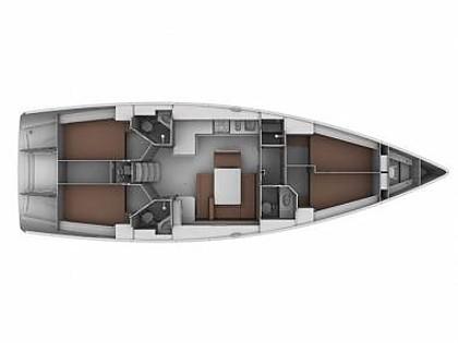 Bavaria Cruiser 45 (CBM Realtime) - Seget Donji - Charter Boote Kroatien