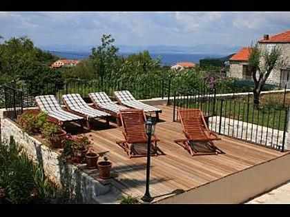 6024 - Mirca - Hiše za počitek, vile Hrvaška - H(6+2): terasa