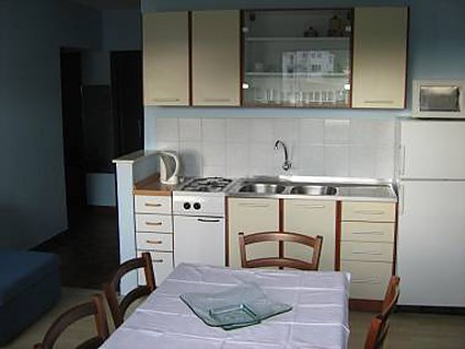 Apartment A1(4+2): kitchen and dining room