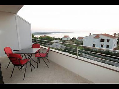 Apartment A4(2+2): terrace