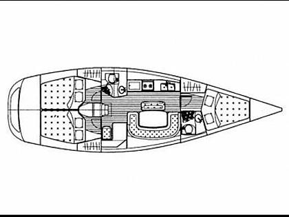Grand Soleil 40R (code:NCP67) - Sibenik - Charter boten Kroatië - Grand Soleil 40R (code:NCP67):