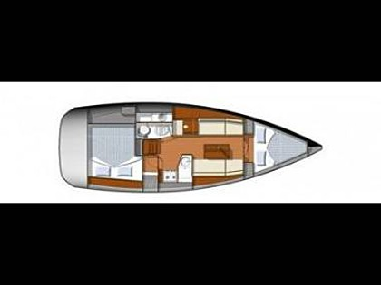 Sun odyssey 33I (code:NAV 39) - Sukosan - Charter boten Kroatië - Sun odyssey 33I (code:NAV 39):