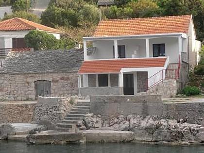 3099 - Bucht Zarace (Gdinj) - Unterkunft in Buchten Kroatien