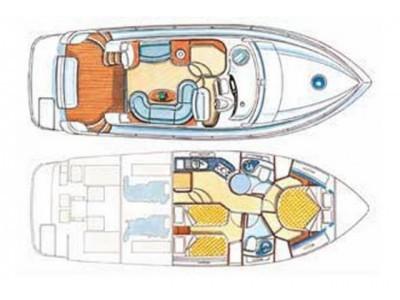 Azimut 39 (CBM Realtime) - Sukosan - Charter boten Kroatië - Azimut 39 (CBM Realtime):