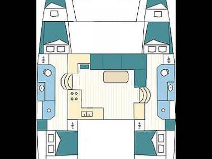 Lagoon 39 (CBM Realtime) - Split - Charter Boote Kroatien