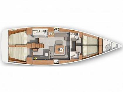 Hanse 455 (CBM Realtime) - Pula - Charter ships Croatia - Hanse 455 (CBM Realtime):