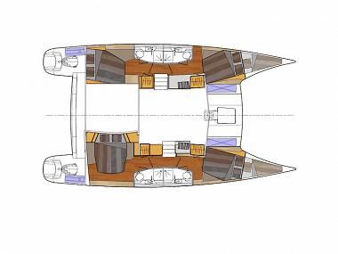 Orana 44 (CBM Realtime) - Split - Charter ships Croatia - Orana 44 (CBM Realtime):