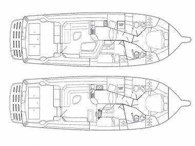 Riviera 42 (CBM Periodic) - Split - Charter ships Croatia - Riviera 42 (CBM Periodic):