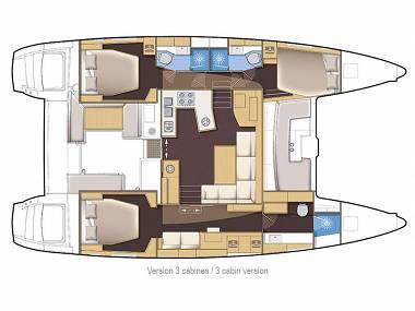 Lagoon 450 (CBM Realtime) - Seget Donji - Charter plavidlá Chorvátsko - Lagoon 450 (CBM Realtime):