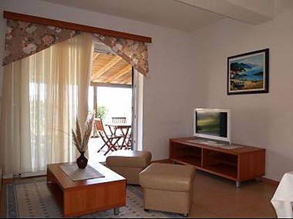 Ferienwohnung A2 (2 +2): Wohnzimmer