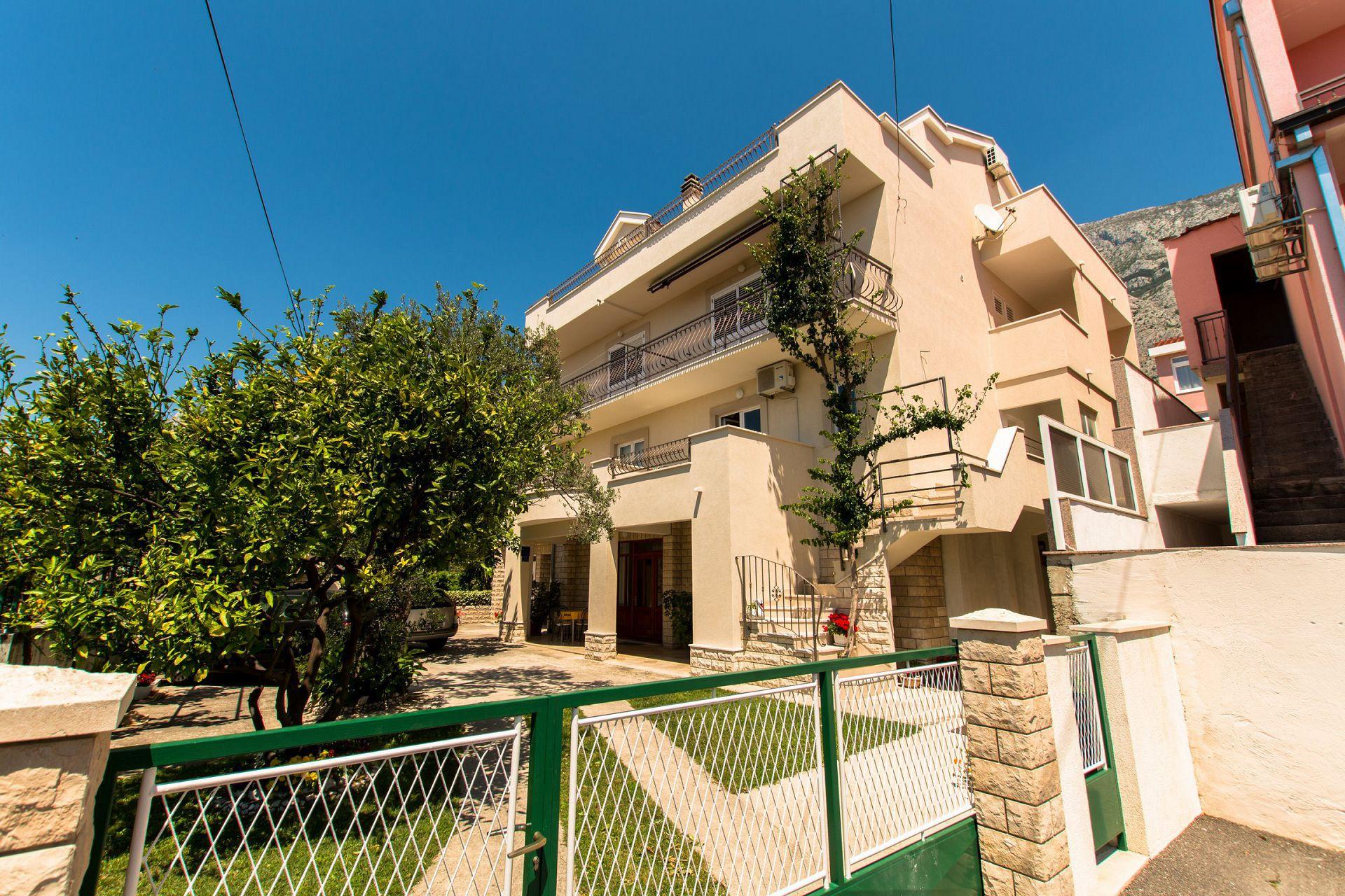 6067 - Makarska - Apartmány Chorvátsko