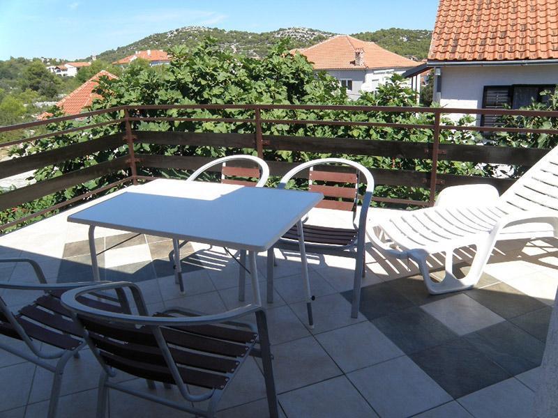 7884  - Jezera - Apartments Croatia - A1(2+2): terrace