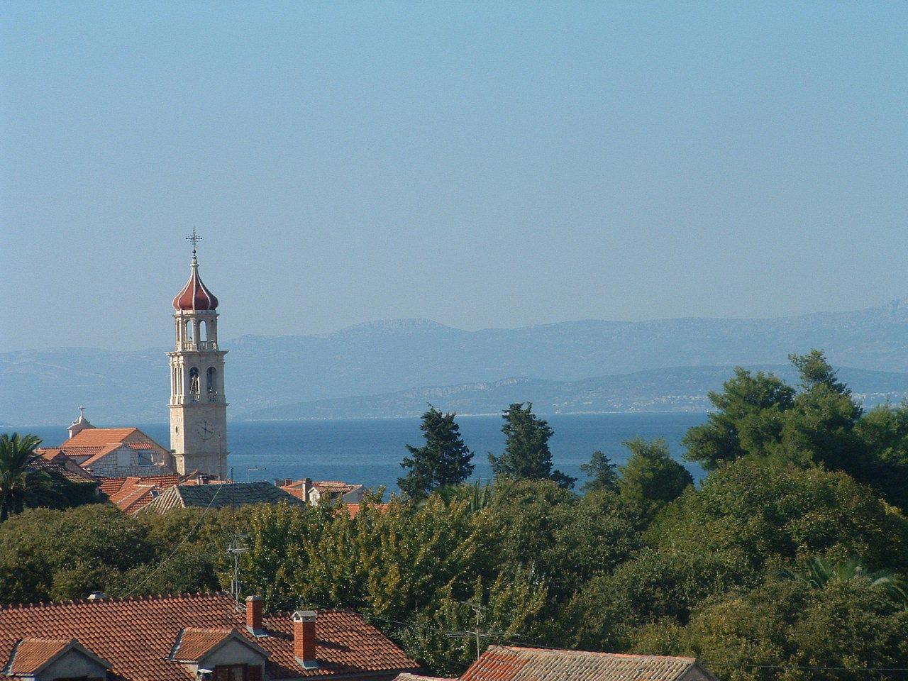 00901SUTI  - Sutivan - Appartements Croatie - A3(2+2): vue