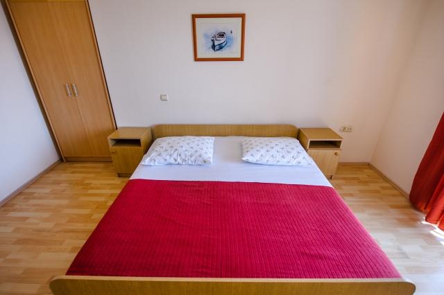 001TROG - Trogir - Appartements Croatie - A1(2+2): chambre à coucher