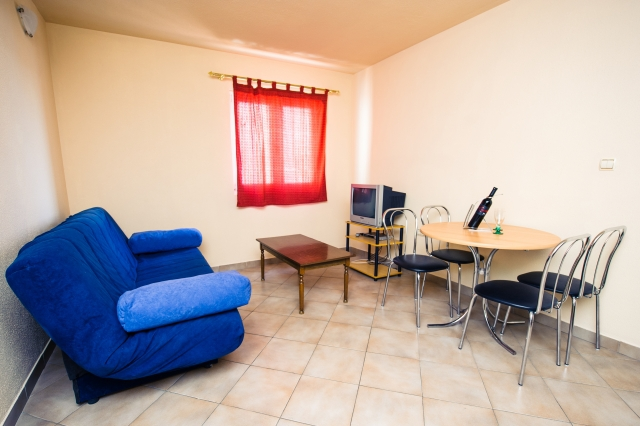 001TROG - Trogir - Appartements Croatie - A1(2+2): séjour
