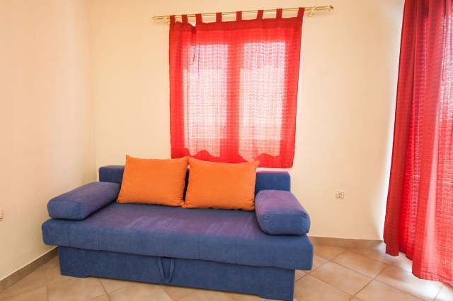 001TROG - Trogir - Appartements Croatie - A2(2+2): séjour