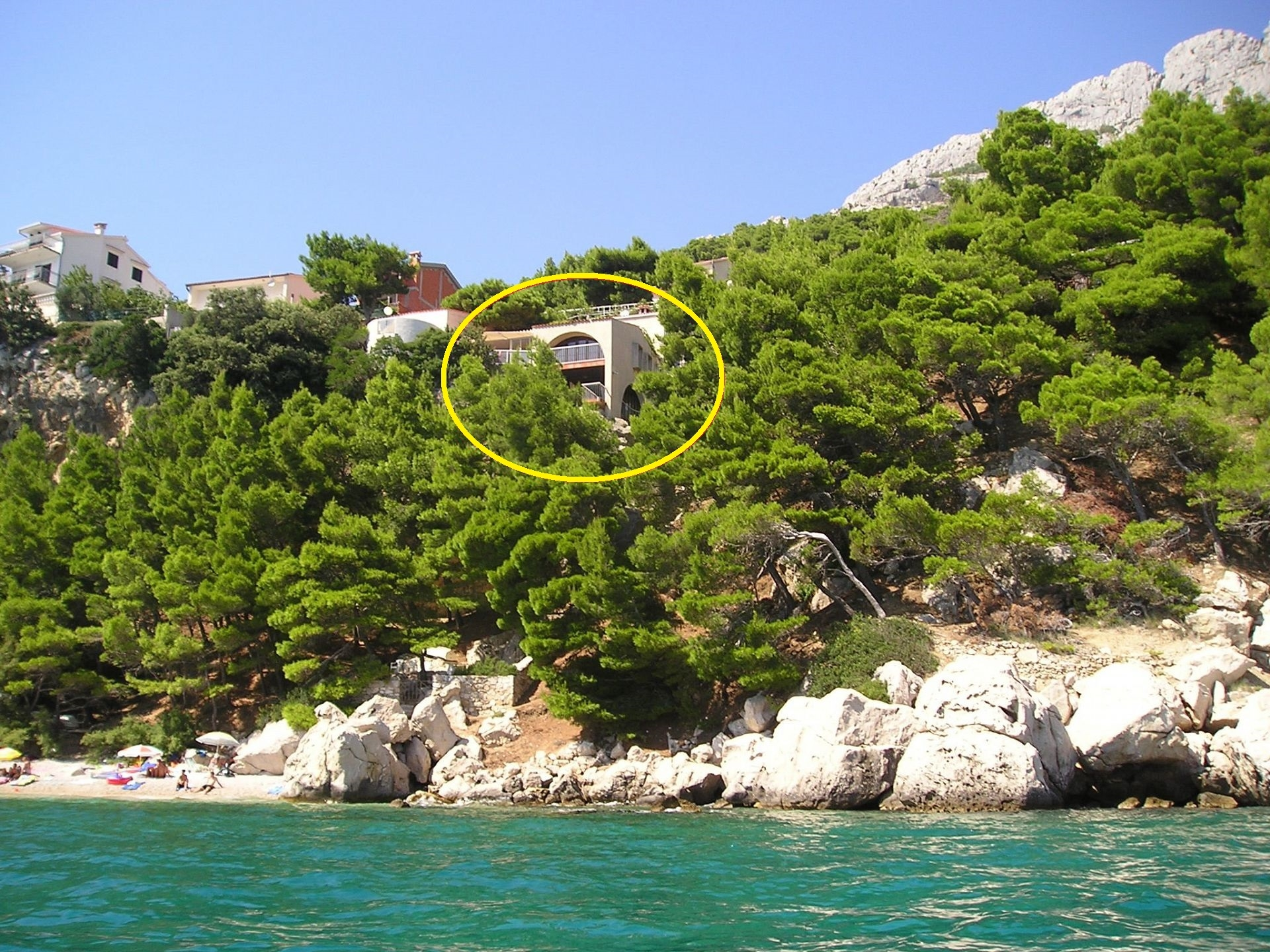 Apartments, Pisak, Riviera Omiš  - Apartments  Mako - 15m from beach: