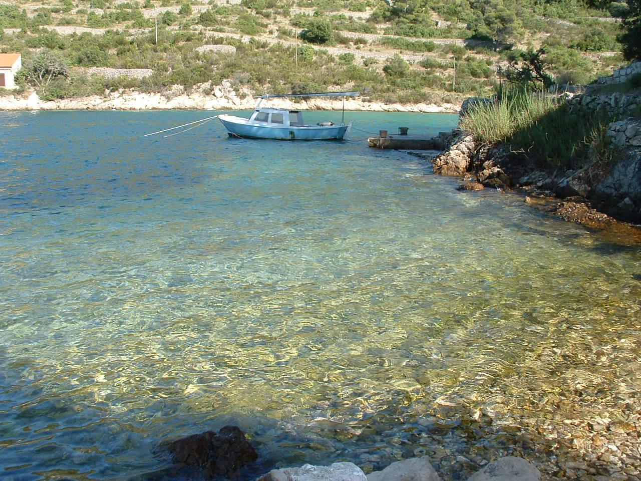00104USTO  - Baai Stoncica (Vis) - Vakantiehuizen, villa´s Kroatië