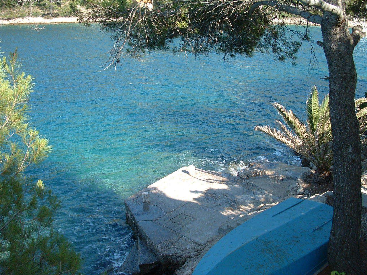 00104USTO  - Baia Stoncica (Vis) - Case vacanze, ville Croazia - la spiaggia