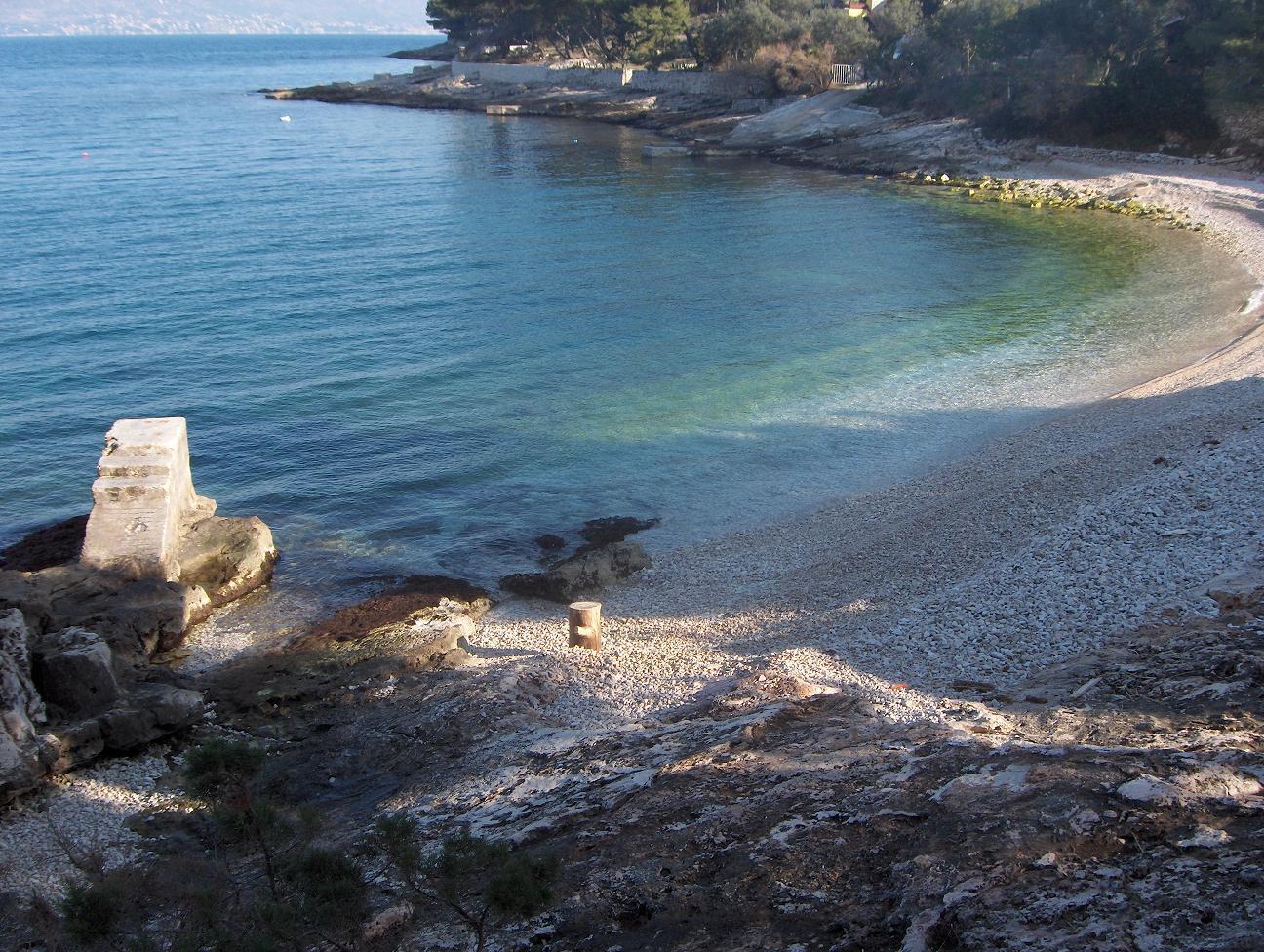 1682  - Postira - Ferienwohnungen Kroatien - Strand