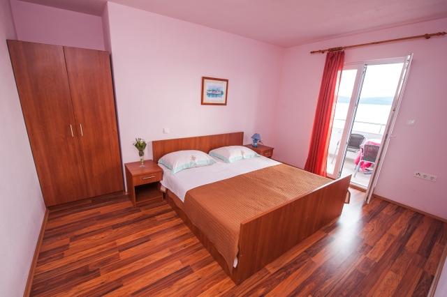 001TROG - Trogir - Appartements Croatie - A6(2+2): chambre à coucher