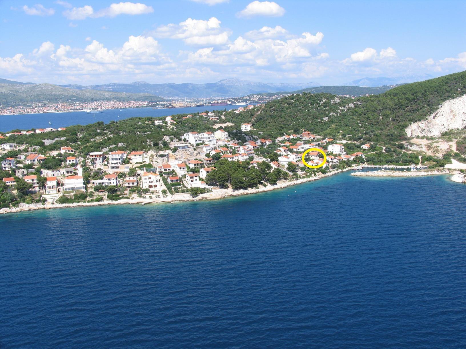 Ferienwohnungen, Okrug Donji, Insel Čiovo - Ferienwohnungen  Dragoljub
