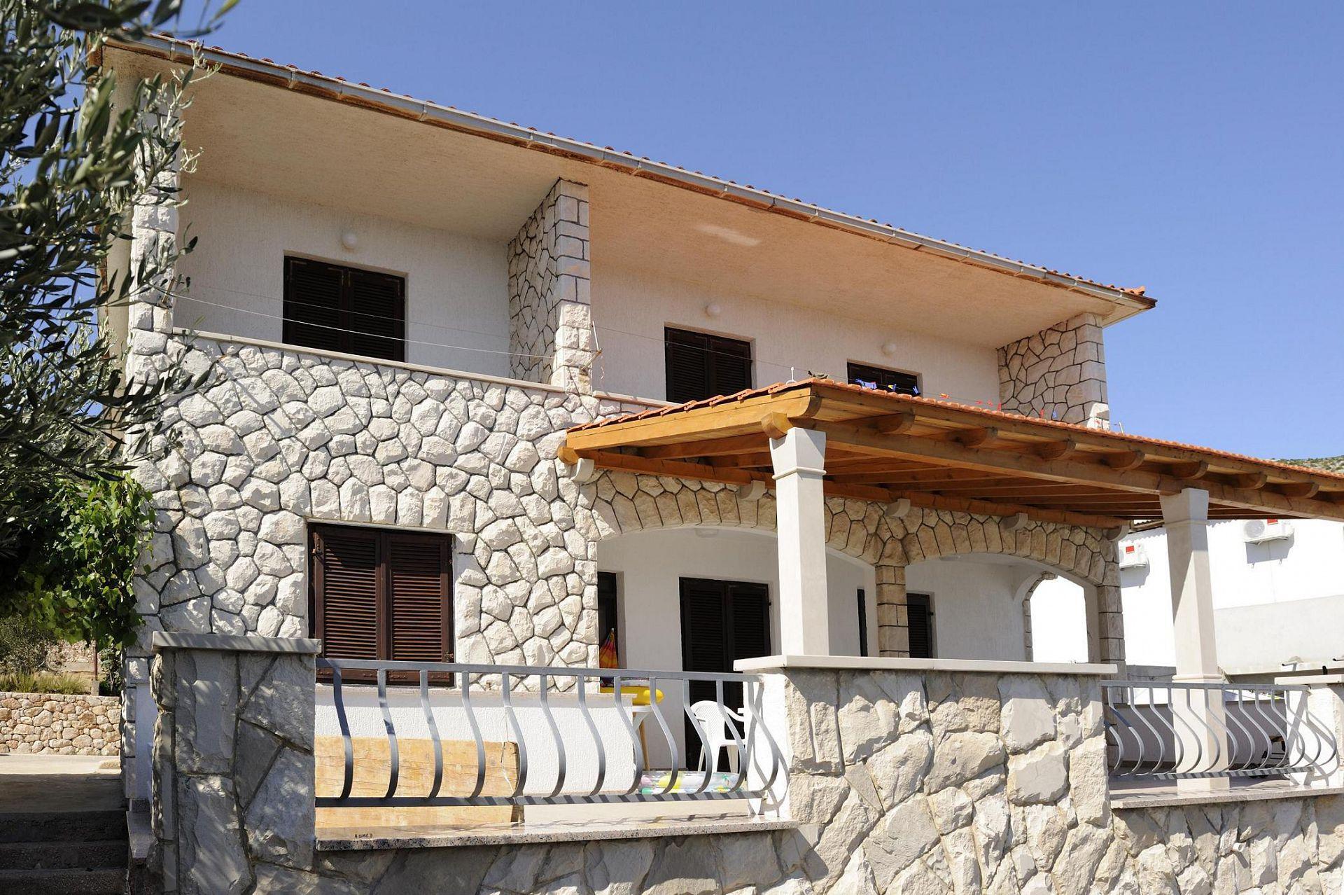 2387  - Zavala - Ferienwohnungen Kroatien