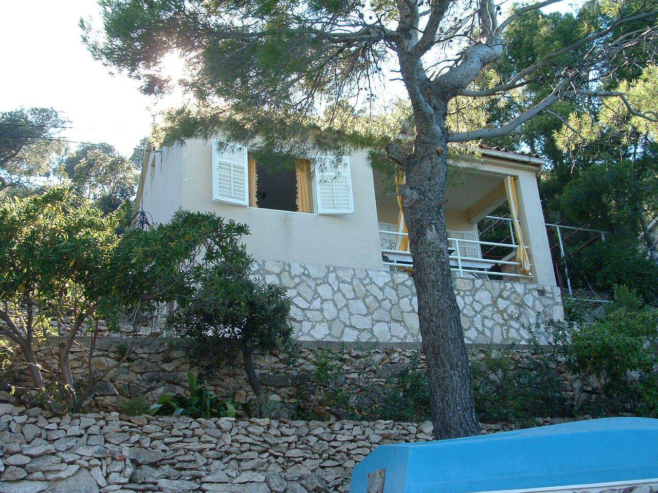 00104USTO  - Baia Stoncica (Vis) - Case vacanze, ville Croazia - H(4): la casa