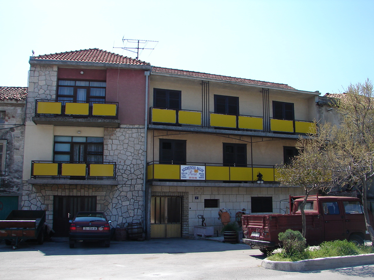 00310TISN  - Tisno - Apartments Croatia