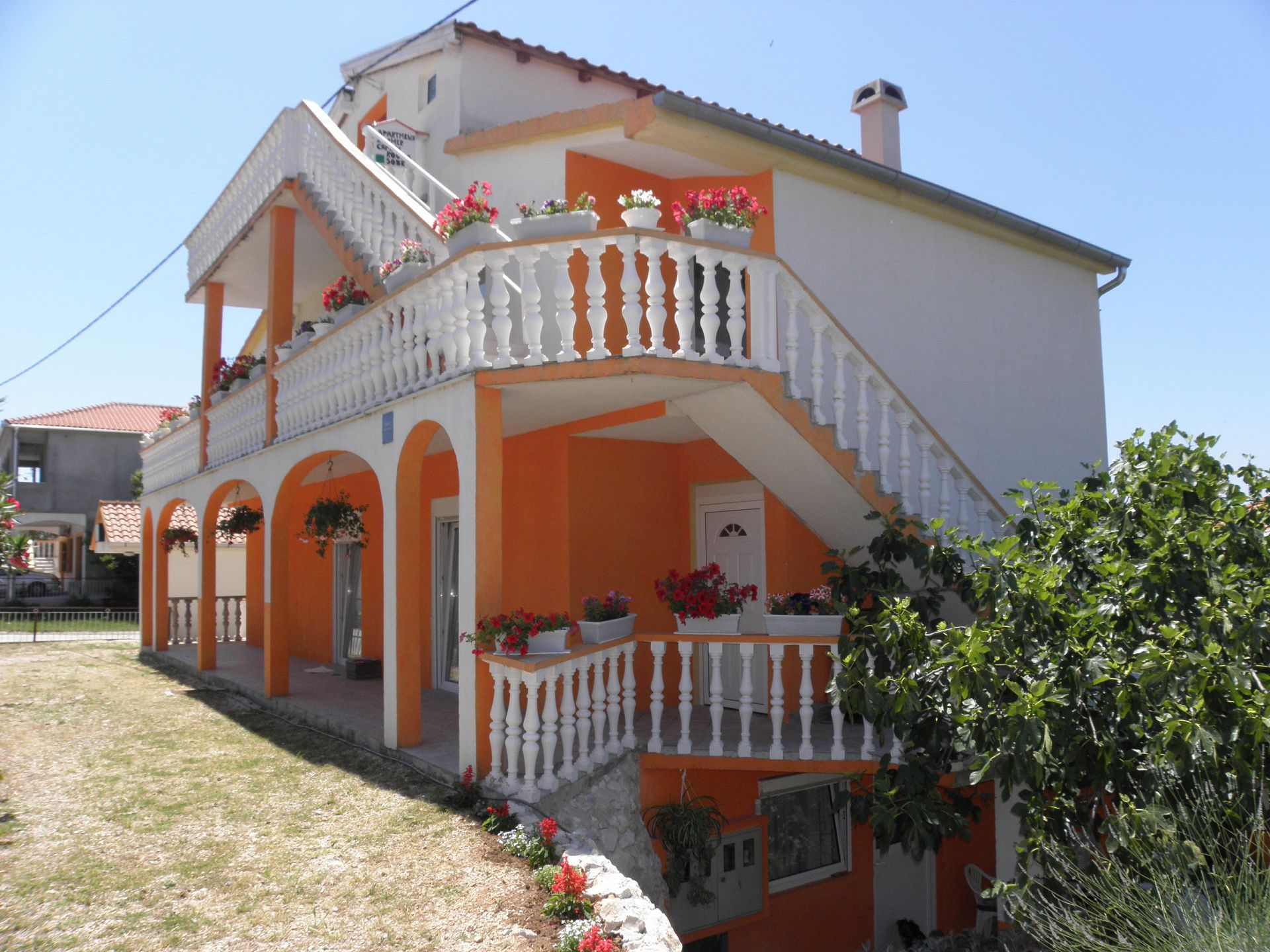 Apartments, Bibinje, Sukošan and surroundings - Apartments  Zvone - 100 m from sea: