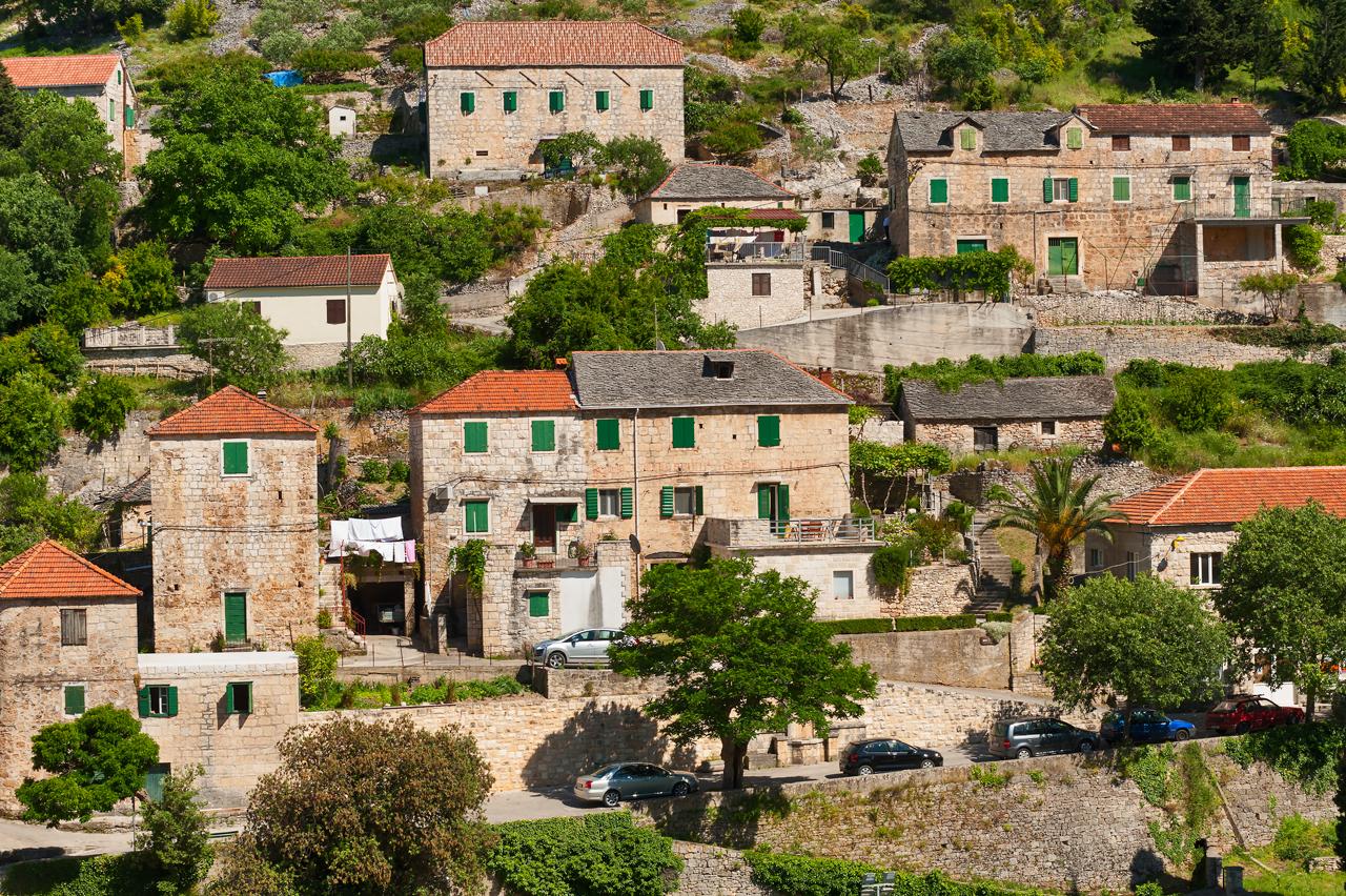 2862  - Dol (Brač) - Dovolenkové domy, vily Chorvátsko