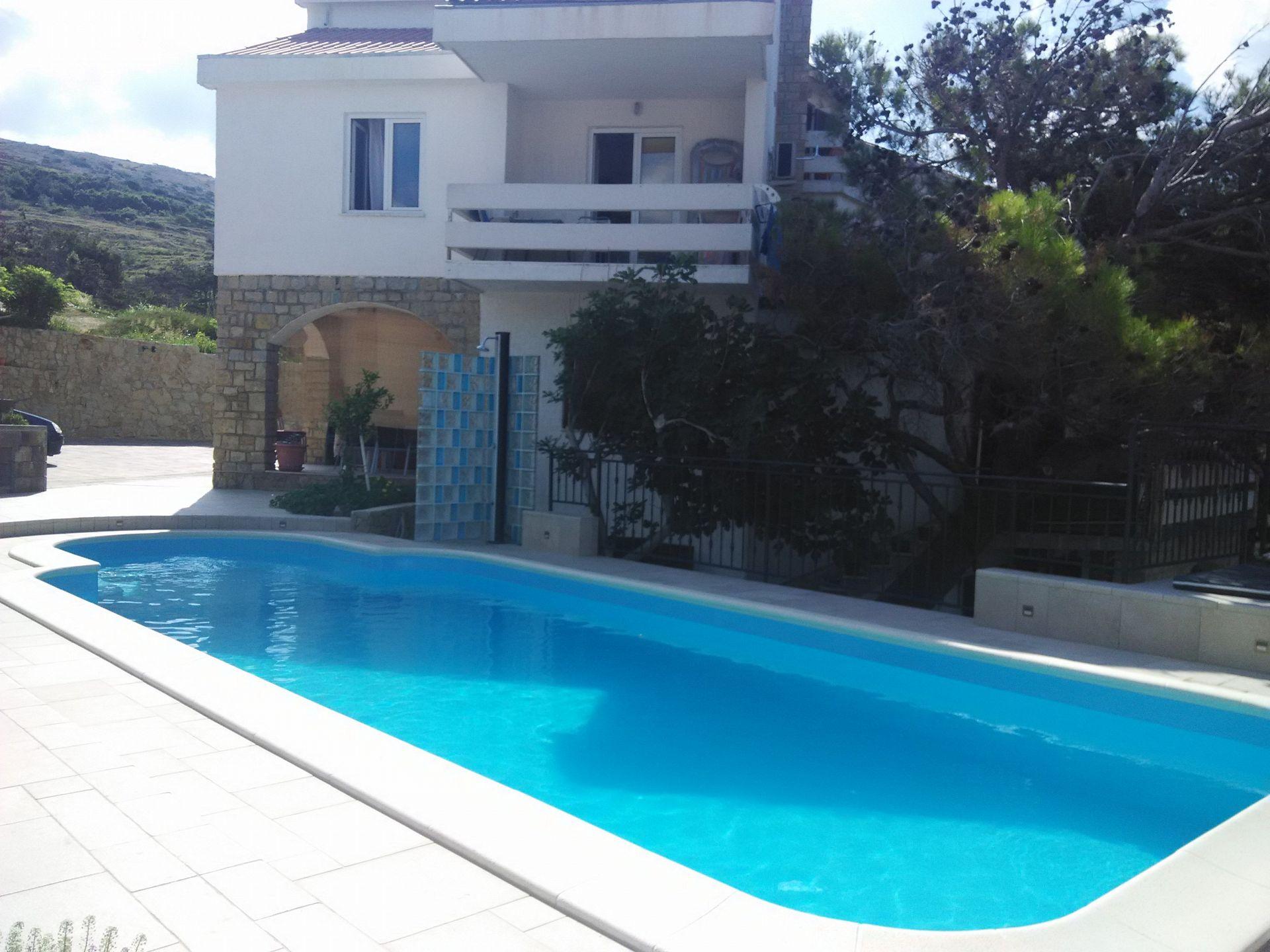 3029 - Pag - Appartementen Kroatië