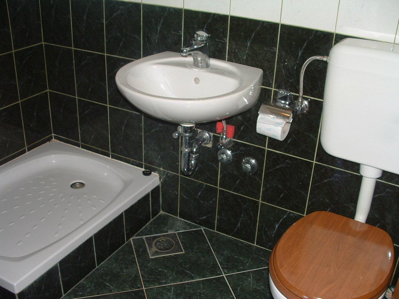 Ante Č - Vinisce - Appartementen Kroatië - A1(2): badkamer met toilet