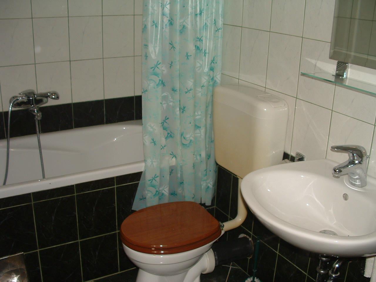 Ante Č - Vinisce - Appartementen Kroatië - A2(2+2): badkamer met toilet